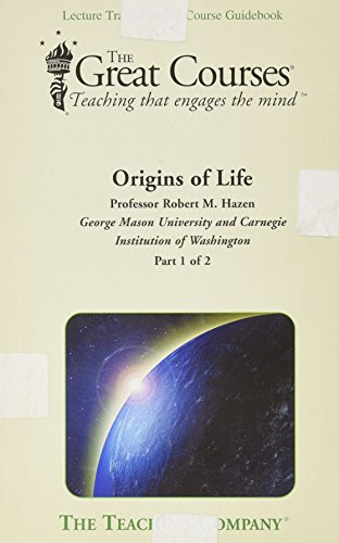9781598031034: Origins of Life (The Great Courses, Teaching that engages the mind)