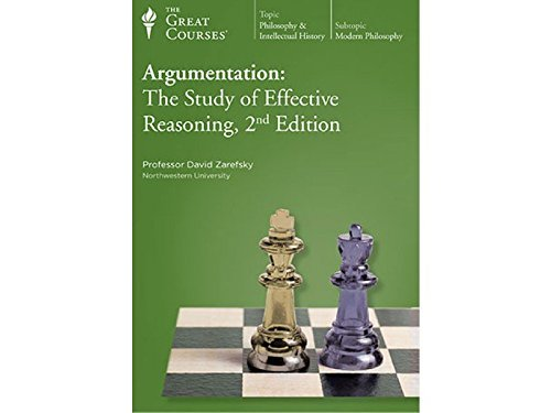 9781598031164: Argumentation: The Study of Effective Reasoning, 2nd Edition (The Great Courses Number 4294)