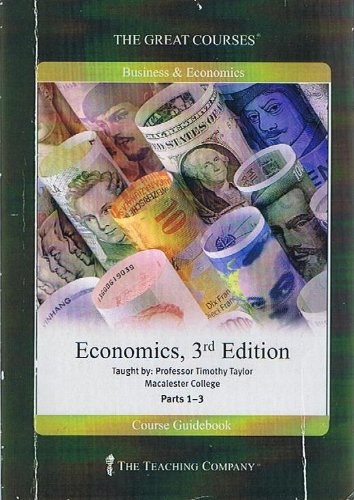 9781598031287: The Great Courses - Economics 3rd Edition