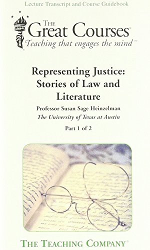 9781598031430: Representing Justice: Stories of Law and Literature (The Great Courses)