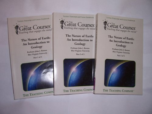 9781598032222: The Nature of Earth: An Introduction to Geology (The Great Courses Teaching that Engages the Mind, V