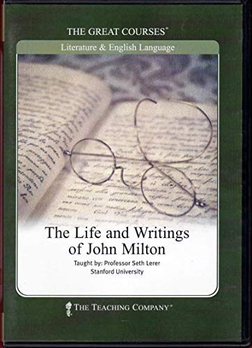 Life and Writings of John Milton CD - The Teaching Company (The Great Courses): Seth Lerer