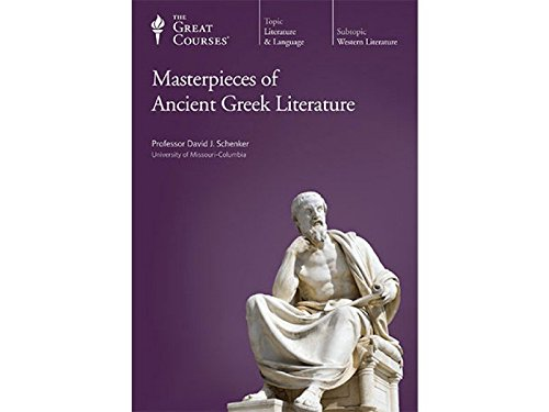 Masterpieces of Ancient Greek Literature CD Lecture Set (The Great Courses)
