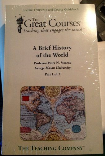 9781598033274: A Brief History of the World (Great Courses, 3 Volume Set)
