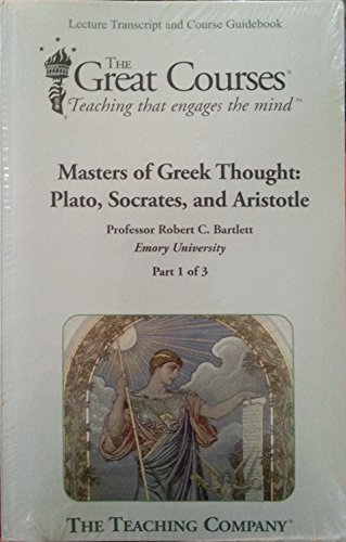 9781598034455 the great courses masters of greek thought plato rh abebooks co uk great courses plus guidebooks great courses guidebooks pdf