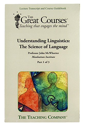 9781598034783: Understanding Linguistics: The Science of Language (Great Courses, BOOK ONLY)