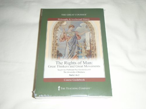 9781598034974: The Rights of Man: Great Thinkers and Great Movements (The Great Courses)