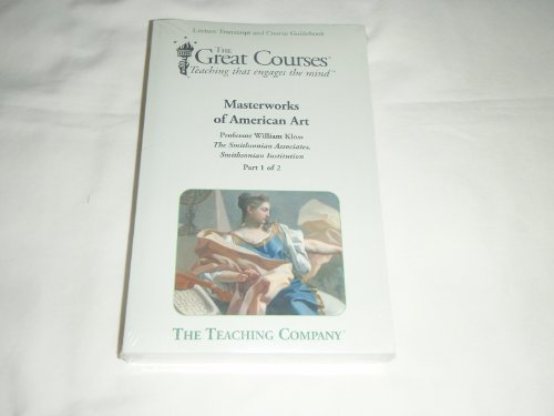 9781598035001: Masterworks of American Art Transcript and Guidebook (Great Courses) (Teaching Company) (Course Number 7158 Books only)