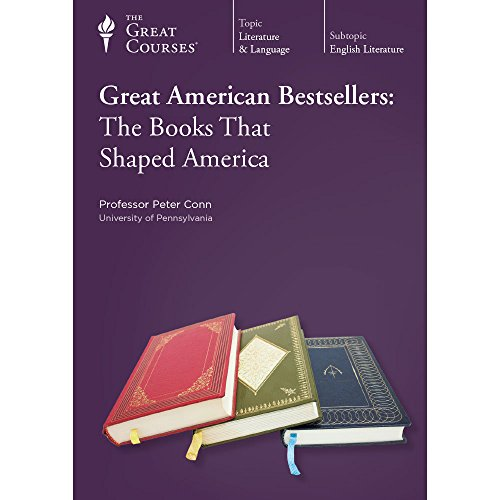Teaching Company: Great American Bestsellers: The Books That Shaped America DVD (Course Number 2527...