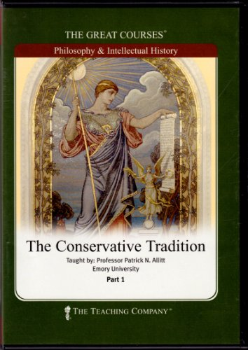 9781598035483: The Conservative Tradition (The Great Courses)