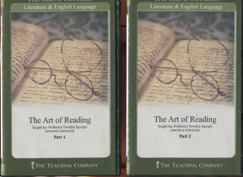 9781598035650: The Art of Reading (The Great Courses: Literature & English Language)