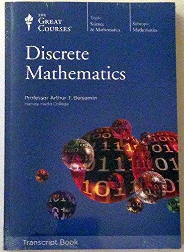 9781598035742: Discrete Mathematics: Lectures 1 - 24, Transcript Book (The Great Courses: Science & Mathematics) 2009