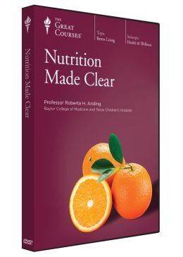 NUTRITION MADE CLEAR - Transcript Book Set (Lectures 1- 18 & Lectures 19 - 36): Roberta H ...