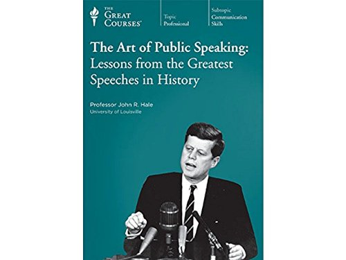 9781598037029: The Art of Public Speaking: Lessons from the Greatest Speeches in History