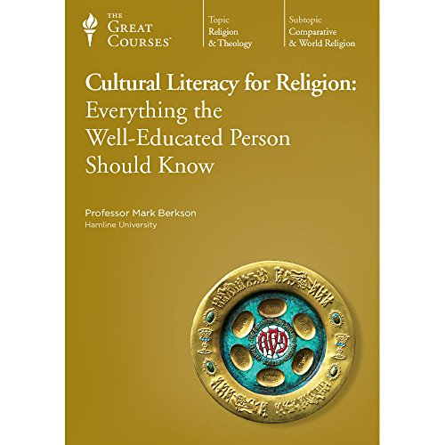 9781598038392: Cultural Literacy for Religion: Everything the Well-Educated Person Should Know