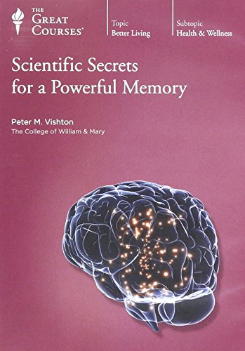 9781598038606: Scientific Secrets for a Powerful Memory (Great Courses, No. 1965)