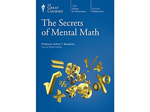 9781598039726: The Great Courses: The Secrets of Mental Math
