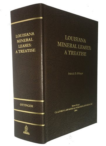 9781598047875: Louisiana Mineral Leases: A Treatise