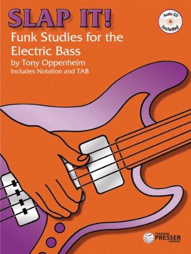 9781598060065: Slap It: Funk Studies for the Electric Bass - BK/CD