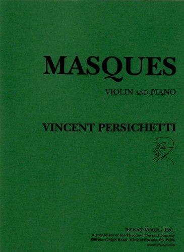 9781598060201: Masques - violin and piano