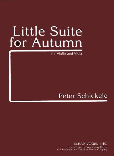 Little Suite for Autumn: Peter Schickele