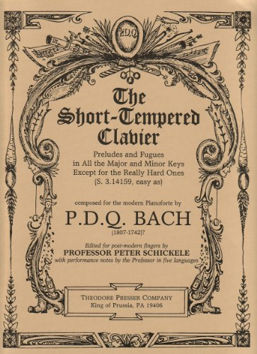 9781598060614: The Short-Tempered Clavier