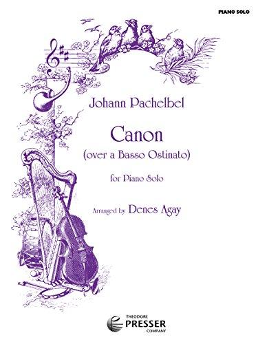Kanon D-Dur: Pachelbel Johann (Composer) / Agay (Editor)