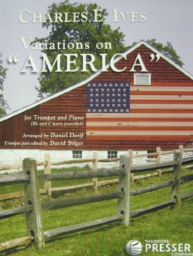 9781598061246: Variations on America, trumpet and piano