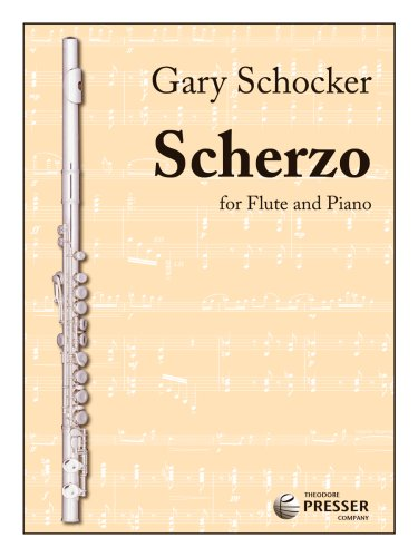 Scherzo (for Flute and Piano): Gary Schocker