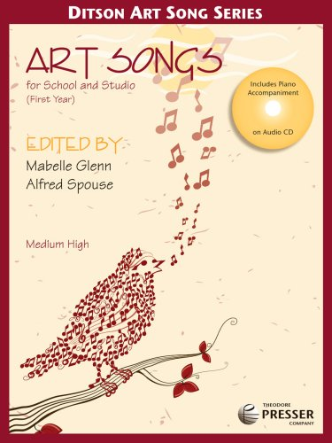 Art Songs for School and Studio, First: Alfred Spouse; Mabelle