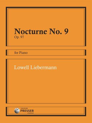 Nocturne 9 Op 97: Liebermann Lowell (Composer)