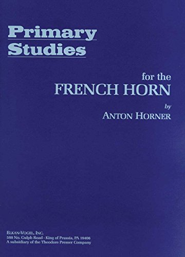 9781598062274: Primary Studies for the French Horn