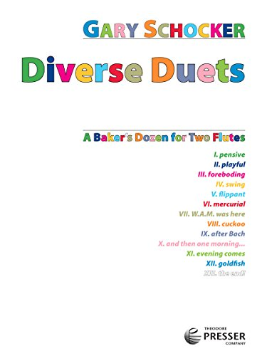 9781598062335: Diverse Duets for Two Flutes