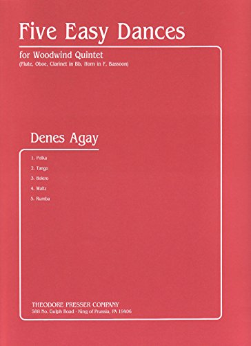 9781598063004: Five Easy Dance for Woodwind Quintet