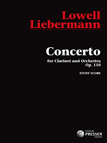 9781598063073: Concerto for Clarinet and Orchestra