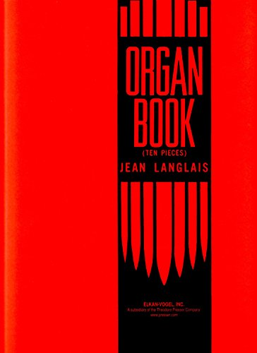 9781598063448: Organbook of 10 Pieces Orgue