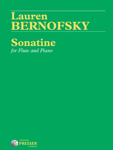 9781598064575: Sonatine for Flute and Piano