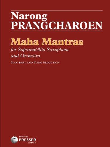 9781598064964: Maha Mantras (Concerto For Alto/Soprano Saxophone And Orchestra)