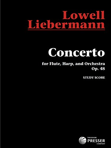 9781598065435: Concerto for Flute, Harp, and Orchestra Op. 48 (9x12 Study Score)