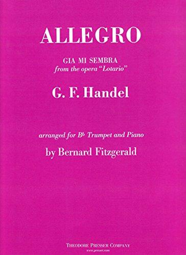 9781598066296: Allegro, Gia mi Sembra from the Opera