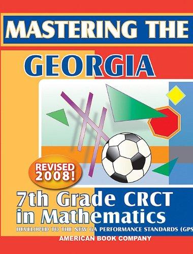 9781598070064: Mastering the Georgia 7th Grade CRCT in Mathematics