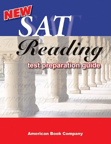 New SAT Reading Test Preparation Guide: Maria L. Struder