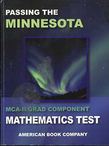 9781598070439: Passing the Minnesota MCA-II/Grad Component Mathematics Test [2006]