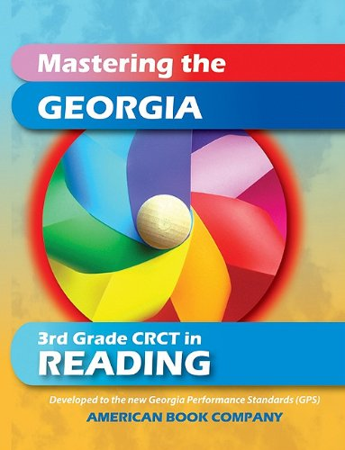 9781598071313: Mastering the Georgia 3rd Grade CRCT in Reading