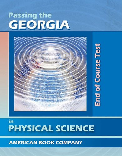 9781598071337: Passing the Georgia End of Course Test in Physical Science