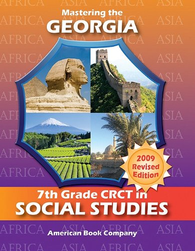 9781598071771: Mastering the Georgia 7th Grade Crct in Social Studies