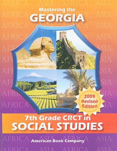 9781598072471: Mastering the Georgia 7th Grade CRCT in Social Studies: Africa and Asia