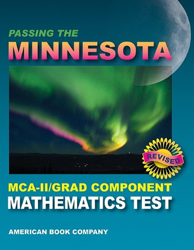 9781598072815: Passing the Minnesota MCA-II/Grad Component Mathematics Test