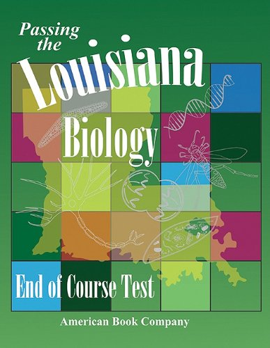 9781598072884: Passing the Louisiana End-of-Course Test in Biology