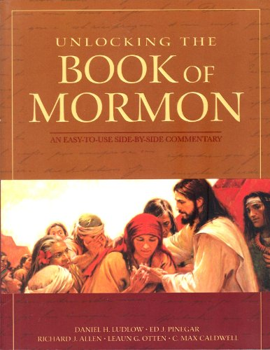 9781598114638: Unlocking the Book of Mormon: A Side-by-Side Commentary